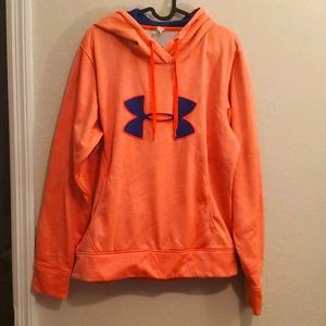 Under Armour light coral hoodie